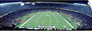 CANVAS ON DEMAND Wall Peel Wall Art Print Entitled Philadelphia Eagles NFL Football Veterans Stadium Philadelphia PA 36
