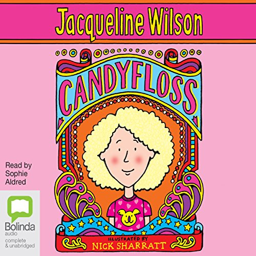 Candyfloss audiobook cover art