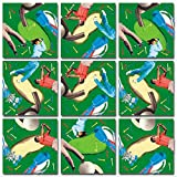 B.Dazzle Scramble Squares: Golf