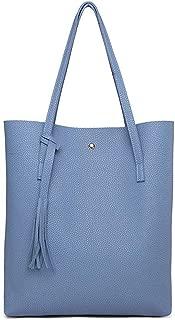 Women Shoulder Bags Women's Soft Leather Handbag Tassel Bucket Bag Women's Handbags