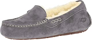 UGG Women's Ansley Moccasin, Light Grey, 6