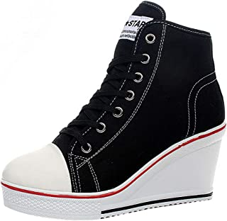 Best high lace up sneakers Reviews