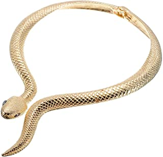 Best snakeskin choker necklace Reviews