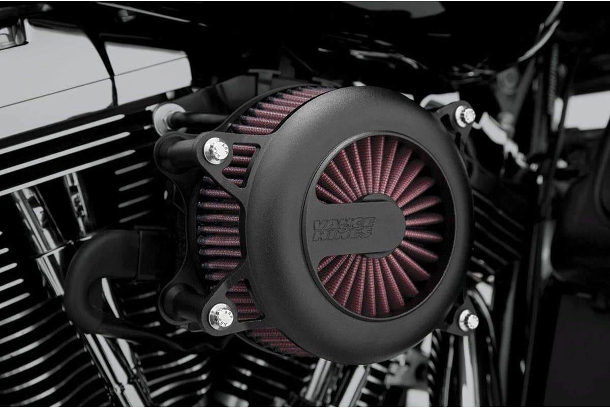 Vance Hines Rogue Many popular brands VO2 Air We OFFer at cheap prices Intake for Harley FLHX Black 06-07