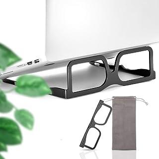 Laptop Stand, Adjustable Aluminum Riser,Ergonomic Foldable Portable Desktop Holder Compatible with MacBook, iPad, HP, Dell...