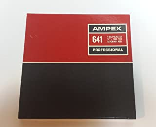 Ampex Professional 7 Inch Reel Tape 1800 Ft. Catalog # 641