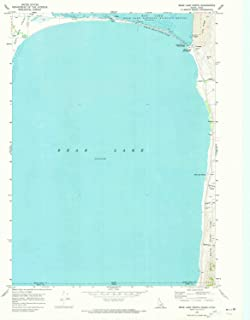 YellowMaps Bear Lake North ID topo map, 1:24000 Scale, 7.5 X 7.5 Minute, Historical, 1970, Updated 1973, 26.7 x 22 in