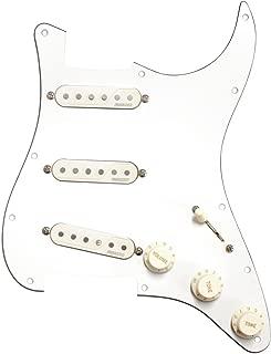 Fishman Fluence Stratocaster Loaded Pickguard - White