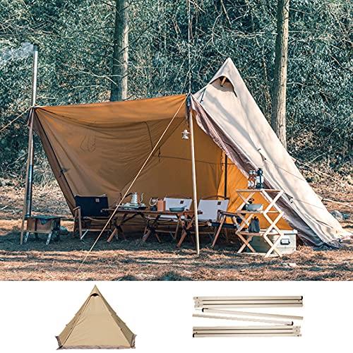 0℃ Outdoor Carpa de Campana de Lujo 240x240x280 Cm, Tienda de Campaña Redonda para...