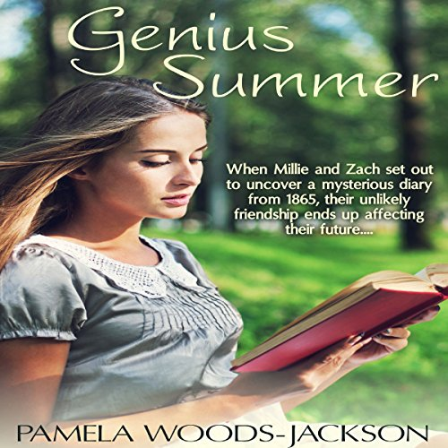 Genius Summer audiobook cover art
