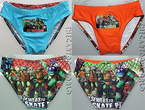 Tartarughe Ninja Costume Mare Piscina Disney Taglie 3 - 4 - 6 - 8 a Taglia 3 Anni Colore