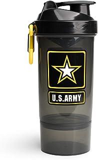 U.S. Army Original2Go Botella mezcladora de 800 ml, botella