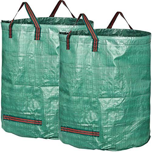 GardenMate 2X 500 Liter Gartensack Professional aus robustem Polypropylen-Gewebe (PP)