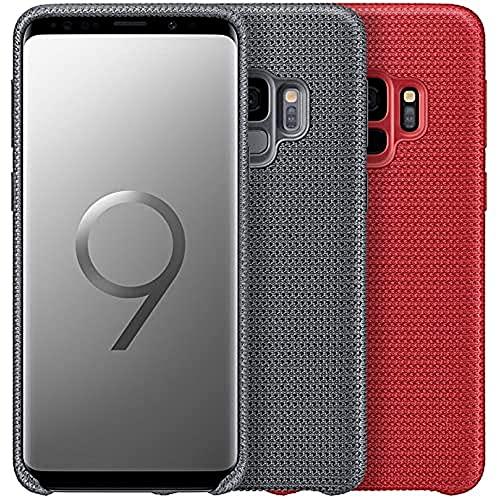 SAMSUNG EF-GG960FREGWW Galaxy S9 Hyperknit Cover, Red