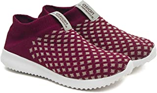 ASIAN Women's Fancy-06 Knitted Sports Shoes,Walking Shoes,Gym Shoes,Fabric Running Shoes