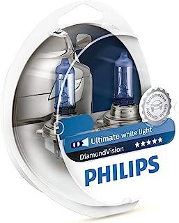 Philips H11 12362DVS2 Diamond Vision Headlight Bulb, 12V, 55W (2 Bulbs)