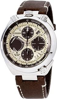 Citizen Promaster Tsuno Chronograph Racer Eco-Drive Beige Dial Men's Watch AV0079-01A