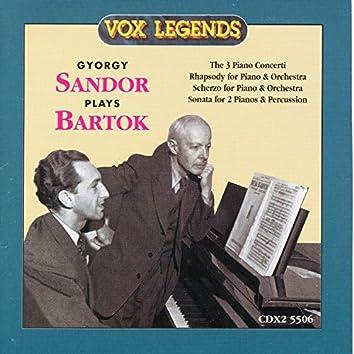 György Sándor Plays Bartók