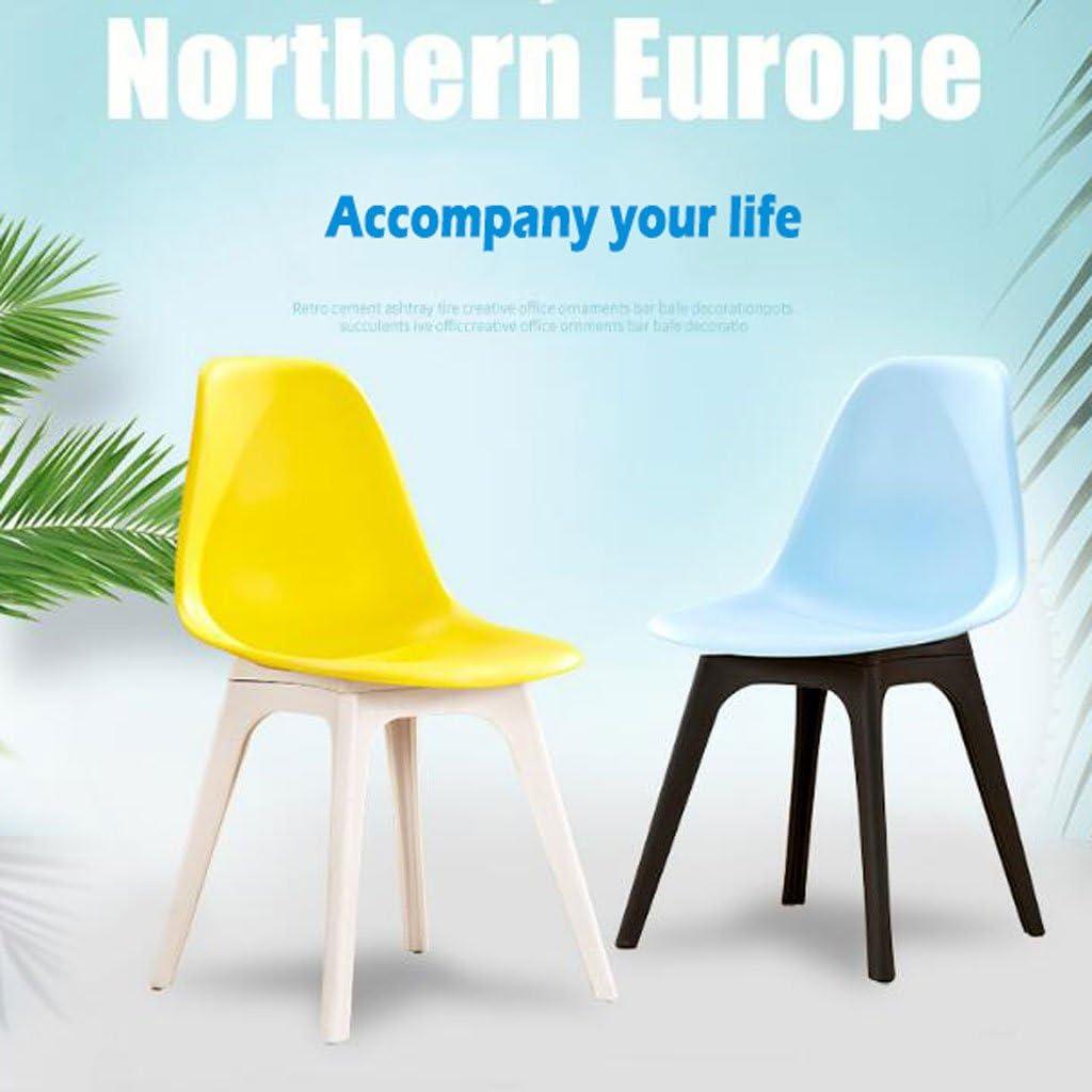 AJZGFChaise de salle à manger, chaise de cuisine Chaise minimaliste moderne, chaise d'ordinateur, chaise de bureau de mode décontractée, tabouret à la maison. (Color : D) D