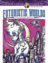 Best creative haven futuristic worlds coloring book Reviews
