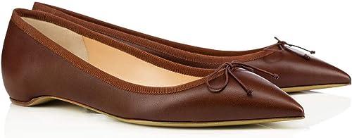 ZHAOYUNZHEN Chaussures Plates pour Femmes,A,43