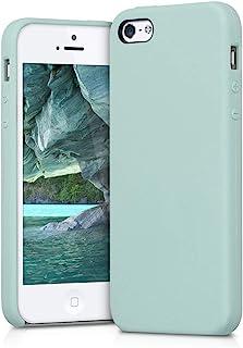 e61b4680cfa kwmobile Funda compatible con Apple iPhone SE / 5 / 5S - Carcasa de [TPU