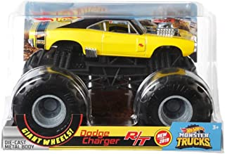 Hot Wheels 1:24 Scale 1970 Dodge Charger R/T Monster Truck Toy