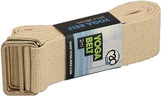 Yoga Mad Yoga - Cinturón de Yoga para Mujer, Color Natural ...