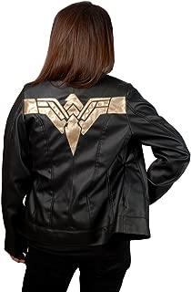 gal gadot black leather jacket
