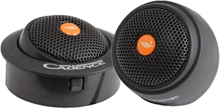 Cadence Acoustics ZRS30T 25mm 60 Watt 4 Ohm Neodymium Swivel Silk Dome Tweeters