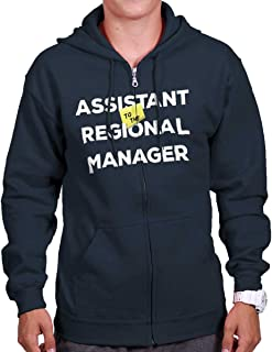 Brisco Brands Assistant to Regional Manager Show Comedy Zip Hoodie