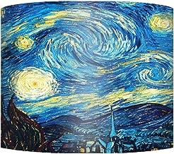 Tink Yıldızlı Gece Vangogh Silindir Küçük Sarkıt Şapka