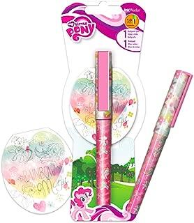 My Little Pony Pen Set -- MLP Ballpoint Pen and Notepad (My Little Pony School Supplies, Office Supplies)
