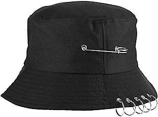 Alomejor Sombrero de Mujer Gorra Unisex Sombrero para el Sol Moda Elegante Playa Sombreros Negro