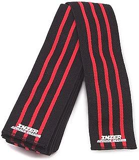 Inzer Knee Wraps - Iron Z (2.0 Meters) Powerlifting Knee Wraps Medium (Pair)