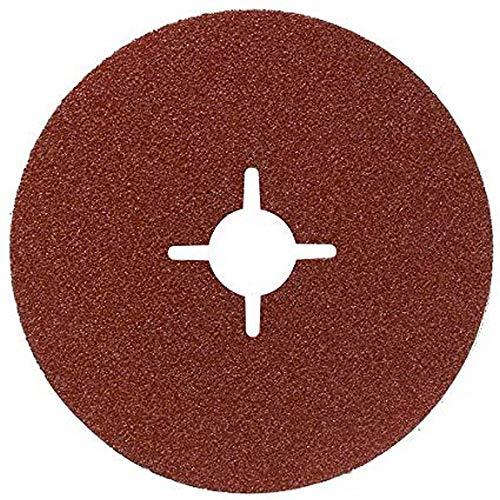 Bosch DIY 12tlg. Fiberschleifscheiben-Set (für Winkelschleifer verschiedene Materialien, Ø 115 mm, Körnung 36/60/100)
