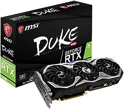MSI Gaming GeForce RTX 2080 8GB GDRR6 256-bit VR Ready Graphics Card (RTX 2080 DUKE 8G OC)
