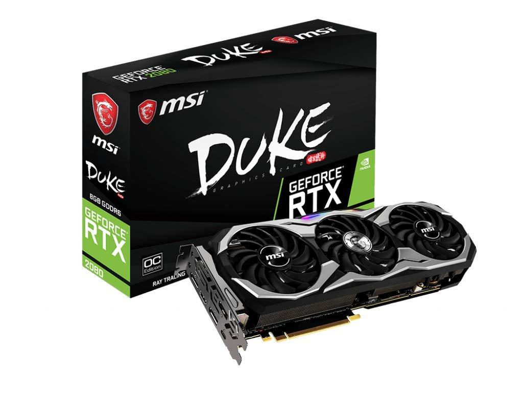 MSI GeForce RTX 2080 Duke 8G OC - Tarjeta gráfica Enthusiast (Zero ...