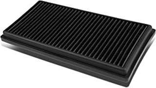 For Mercedes Benz AMG C63/CL63/ML63/E63/SL63 6.3L Reusable & Washable Replacement High Flow Drop-in Air Filter (Black)