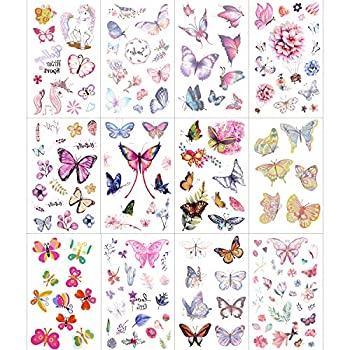 Best butterfly and flower tattoos Reviews