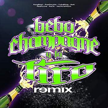 Bebo Champagne y Lo Tiro (Remix) [feat. Papi Trujillo, Cuban Bling & Pochi]