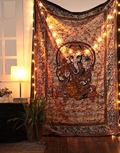 Tapiz Religioso Hindu Senor Ganesha Tapestry - Pared