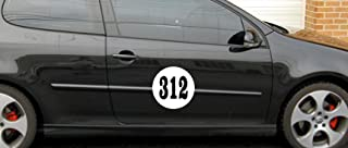 large magnetic numbers for cars