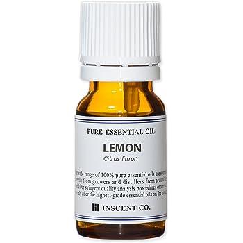 レモン 10ml インセント エッセンシャルオイル 精油 アロマオイル