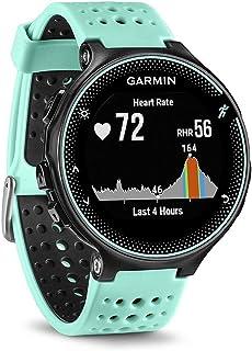 comprar comparacion Garmin Forerunner 235 - Reloj con pulsómetro en la muñeca, unisex, color eléctrico Negro y Azul Hielo, talla única