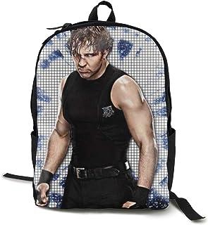Travel Laptop Backpack WWE Dean Ambrose School Bookbags Casual Hiking Daypack