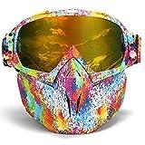 Gafas De Esqui NiñoMáscara De Moto De Nieve Gafas De Esquí Protección Uv Gafas De Snowboard Máscara De Invierno A Prueba De Viento Hombres Mujeres Deportes De Nieve Gafas