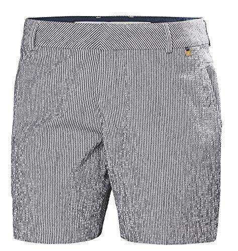 Helly Hansen Crew Shorts-34073 Shorts Femme, Bleu, Taille 33