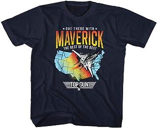 Top Gun – Camiseta de buceo unisex para niño Maverick