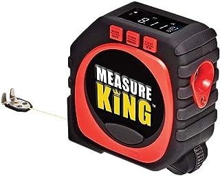 SUQ 3-in-1 digitale meetlint, snaarmodus, Sonische modus en rolmodus, draagbare handgreep digitale afstandsmeter,multifuct...